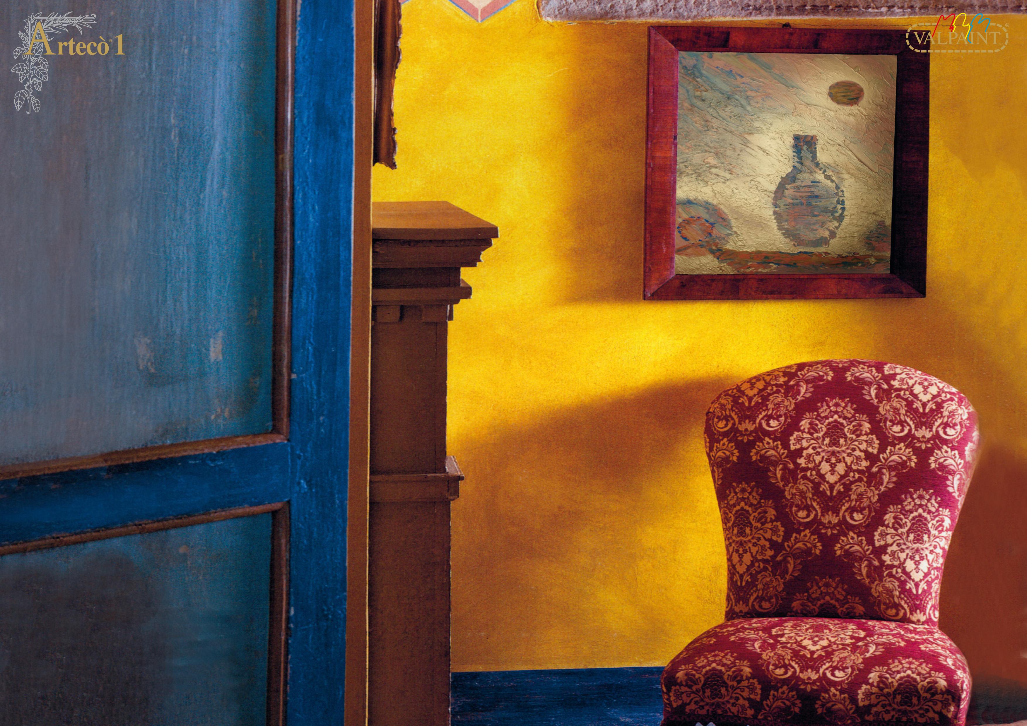 Arteco 1 efecto envejecido cal alavesa de pinturas - Pintura efecto envejecido ...