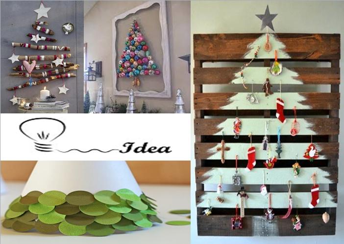 Un rbol de navidad diferente alavesa de pinturas - Arboles de navidad de diferentes materiales ...