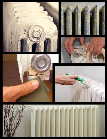 Pintado de un radiador de hierro alavesa de pinturas - Pintura para radiadores ...