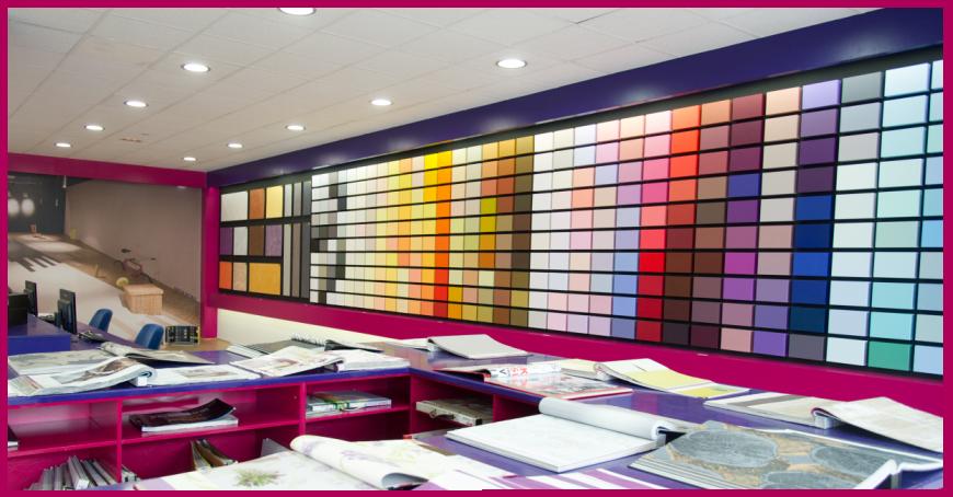 Trucos para pintar una pared alavesa de pinturas - Muestrario de colores para pintar paredes ...